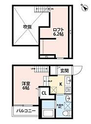 新築 トスカーニ[102号室号室]の間取り