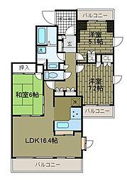 町田パークホームズ[3階]の間取り