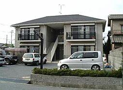 兵庫県姫路市飾磨区中野田1丁目の賃貸アパートの外観