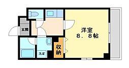 神奈川県川崎市高津区溝口4丁目の賃貸マンションの間取り