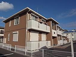 神奈川県茅ヶ崎市松が丘2丁目の賃貸アパートの外観