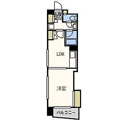 コンソラーレ日本橋[5階]の間取り