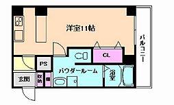 ODESSA南船場[11階]の間取り