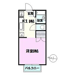 千葉県習志野市東習志野6丁目の賃貸アパートの間取り