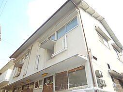 広島県広島市東区山根町の賃貸アパートの外観
