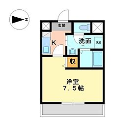 SKハウス[2階]の間取り
