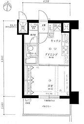 ライオンズガーデン赤塚公園[2階]の間取り
