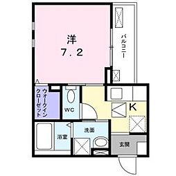 スリール II[1階]の間取り
