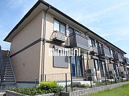 愛知県豊橋市内張町の賃貸アパートの外観