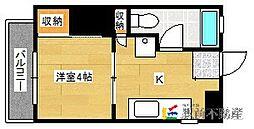 福岡県古賀市天神2丁目の賃貸アパートの間取り