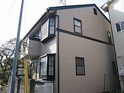 東京都立川市柴崎町1丁目の賃貸アパートの外観