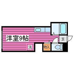 北海道札幌市東区北丘珠三条2丁目の賃貸アパートの間取り