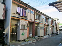 大阪府池田市姫室町の賃貸アパートの外観