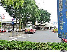 武蔵境駅(現地まで1280m)