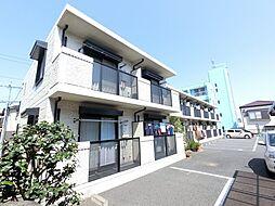 千葉県千葉市稲毛区穴川3の賃貸アパートの外観