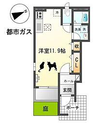 ピーノ(pino)[1階]の間取り