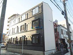 神奈川県横浜市鶴見区菅沢町の賃貸アパートの外観