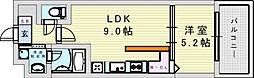 (仮称)ニコニコタクシー株式会社様プロジェクト 4階1LDKの間取り