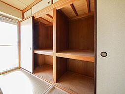佐賀白山ビルのたっぷりの収納スペース
