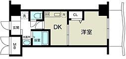 ノルデンハイム新大阪II[6階]の間取り