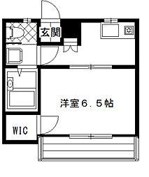 メゾン・ブラン[2階]の間取り