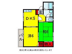 アンビション[1階]の間取り
