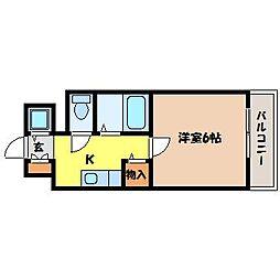 北海道札幌市中央区南八条西17丁目の賃貸マンションの間取り