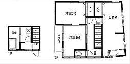 松本アパート[1号室]の間取り