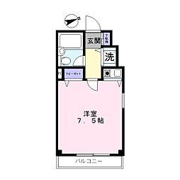山喜フォレスト[3A号室]の間取り