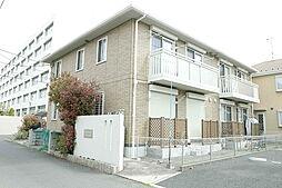 神奈川県海老名市中新田4丁目の賃貸アパートの外観