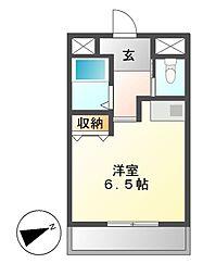 ドール新栄[6階]の間取り