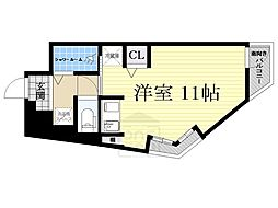 シティロイヤルマンション南堀江[5階]の間取り