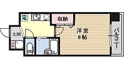 ウェスティン安朱[402号室号室]の間取り