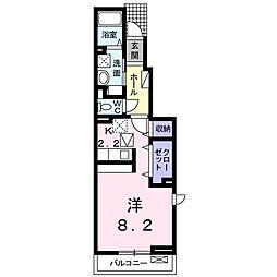 ルミウス[1階]の間取り