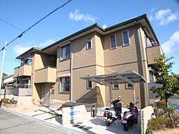 兵庫県宝塚市野上4丁目の賃貸アパートの外観