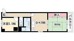 愛知県名古屋市南区要町2丁目の賃貸マンションの間取り