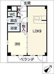 CONFOR八事[4階]の間取り