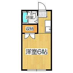 コーポ町柳[301号室]の間取り