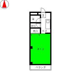 岩田ビル[3階]の間取り