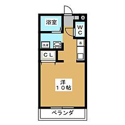 パセオ蜆塚壱番館[2階]の間取り