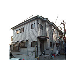 東京都八王子市富士見町の賃貸アパートの外観
