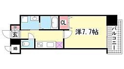 ピアグレース神戸[14階]の間取り