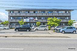 長野県長野市大字西尾張部の賃貸アパートの外観
