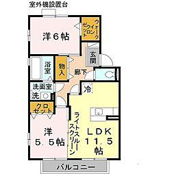 松韻舎[2階]の間取り