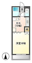藤ヶ丘レジデンス[4階]の間取り