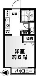 神奈川県横浜市泉区和泉町の賃貸アパートの間取り