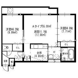 菊水駅 7.5万円