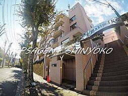 神奈川県横浜市神奈川区菅田町の賃貸マンションの外観