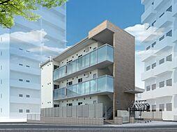 東京都墨田区東向島3丁目の賃貸マンションの外観