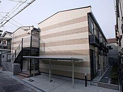 大阪府大阪市東淀川区西淡路2丁目の賃貸アパートの外観